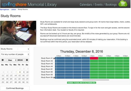 LibCal - Calendaring, Event Management, and Booking Platform